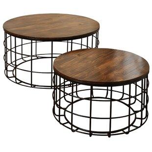 Ines 2 Piece Coffee Table Set by Gracie Oaks Best