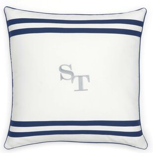 Sullivan Stripe Cotton Throw pillow