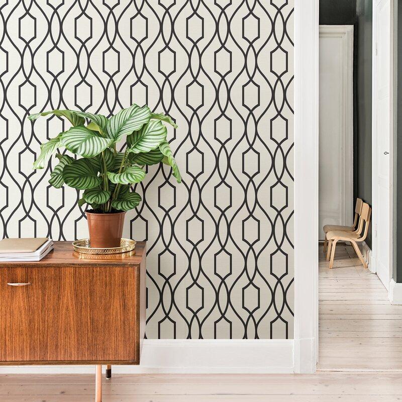 "Wrought Studio Maven 33' L x 20.5"" W Wallpaper Roll | Wayfair"