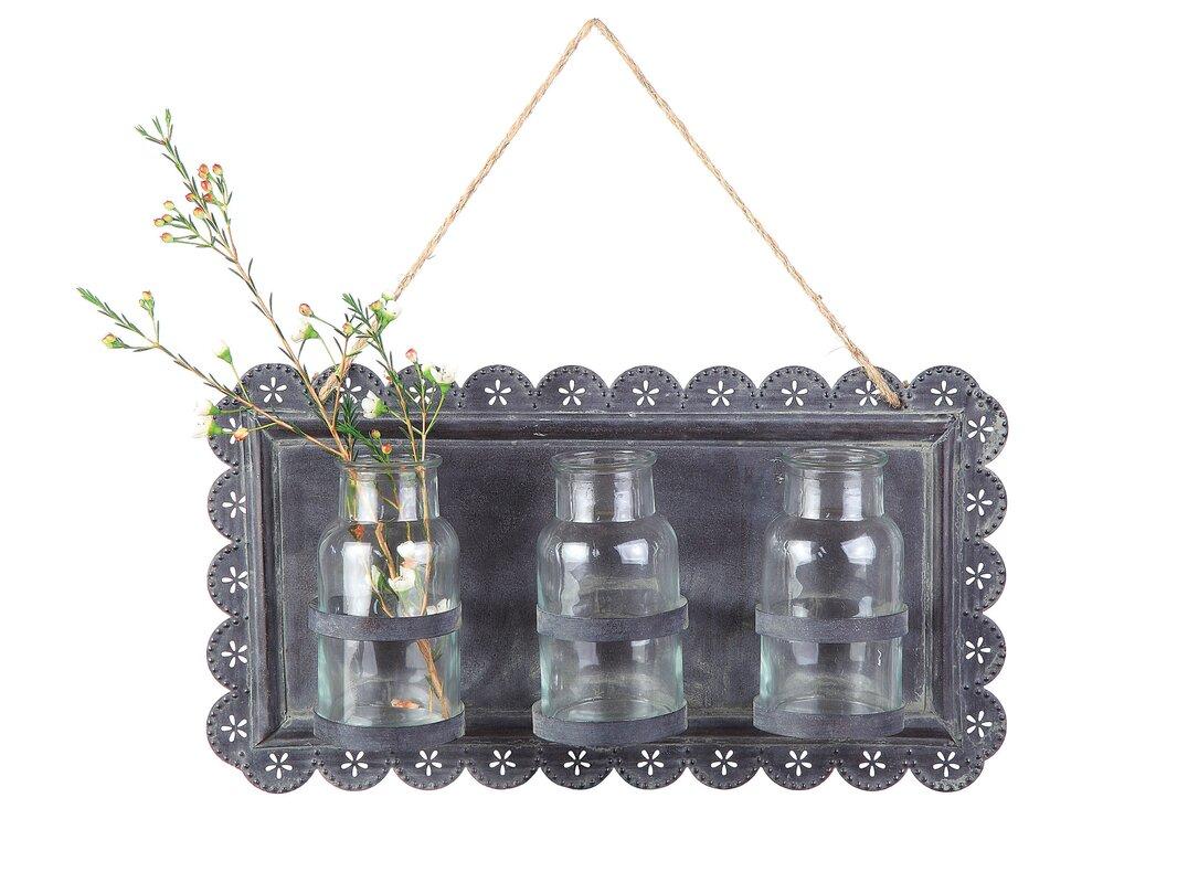 Tin hanging decor wall vase reviews birch lane tin hanging decor wall vase reviewsmspy