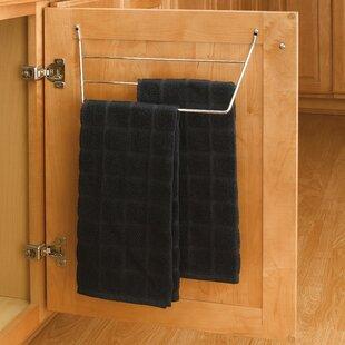 Comparison Mounted Towel Rack ByRev-A-Shelf