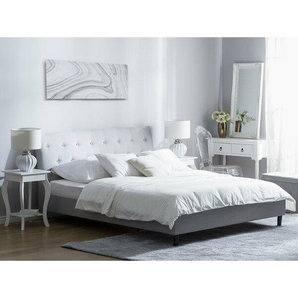 Bed 140 Cm.Korando European Double 140 X 200 Cm Upholstered Bed Frame