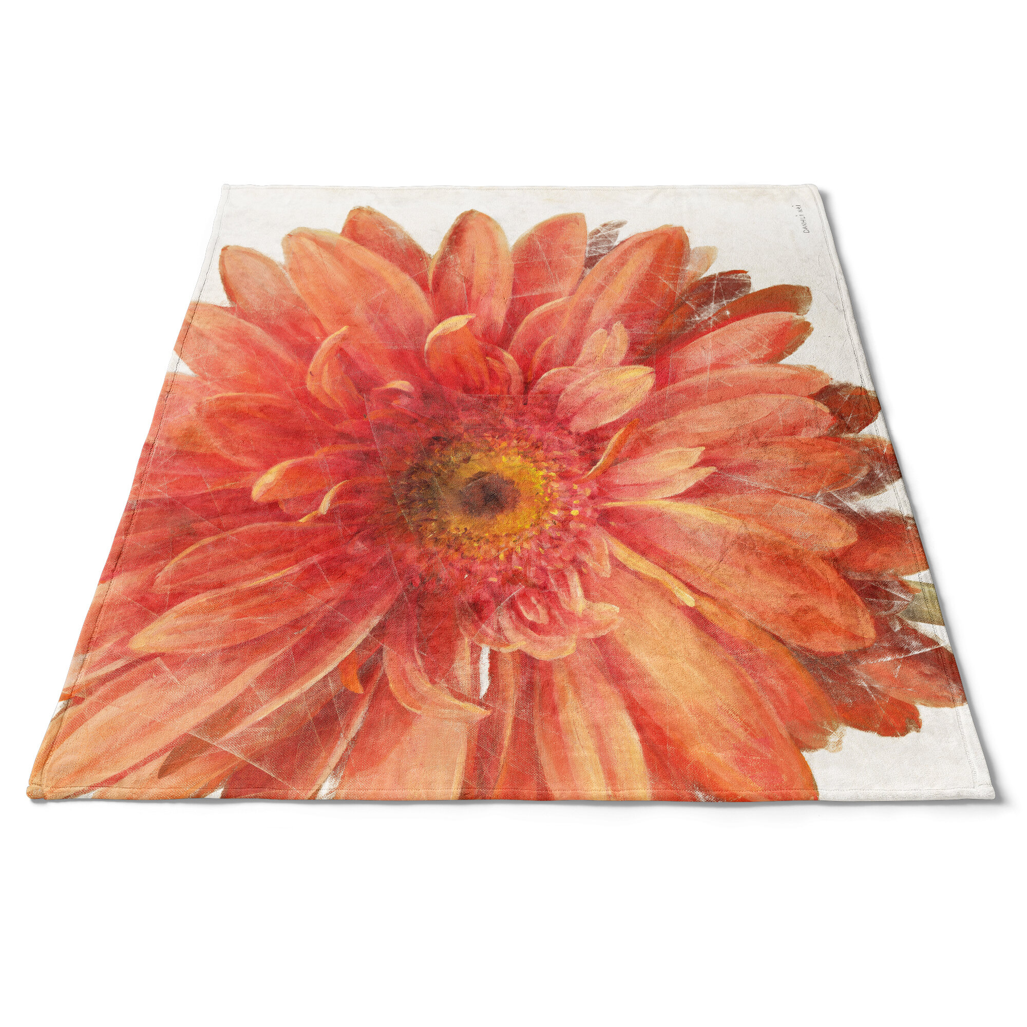 East Urban Home Vivid Daisy Blanket Wayfair