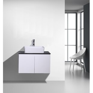 Inexpensive Sonlin 30 Wall-Mounted Single Bathroom Vanity Set By Orren Ellis