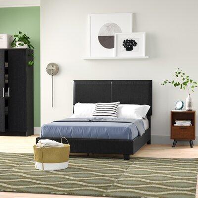 Sturbridge Upholstered Platform Bed Zipcode Design? Size: Full