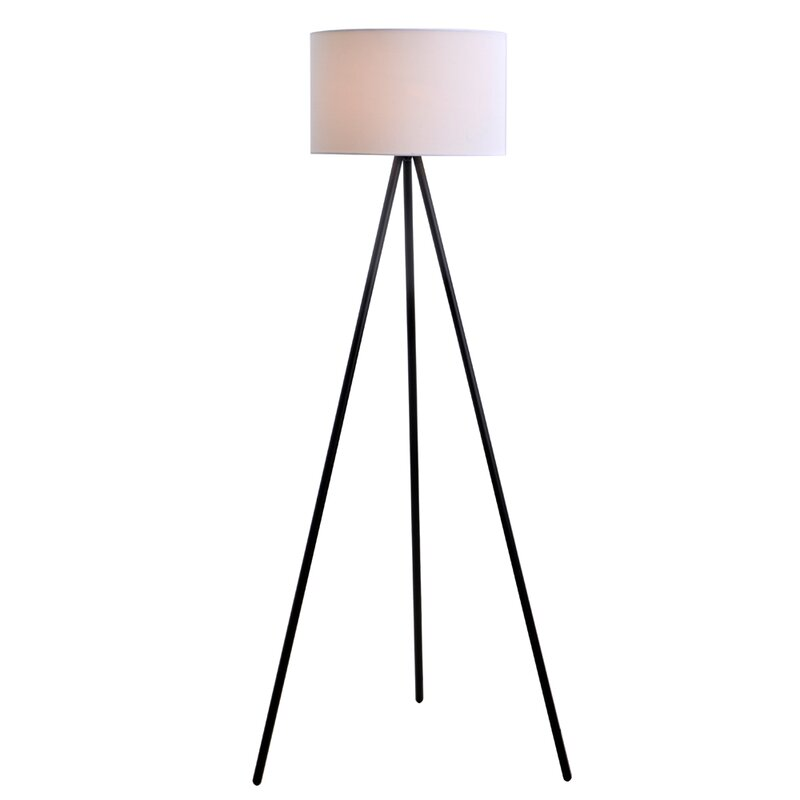61 25 tripod floor lamp