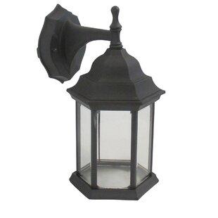 Charlton Home Kushner Exterior Outdoor Wall Lantern