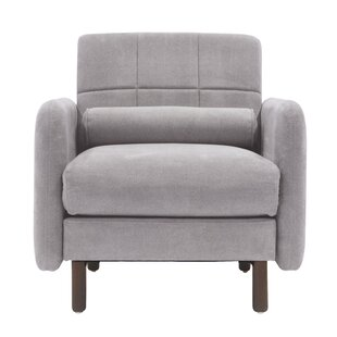 Natalie Mid-Century Modern Armchair by Elle Decor
