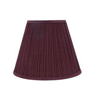 Transitional Pleated 13 Fabric Empire Lamp Shade