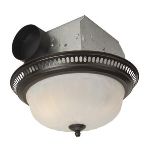 Best Price Decorative Designer Bath Fan with Light in Oil Rubbed Bronze By Craftmade