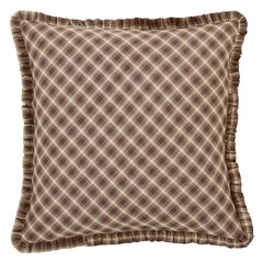 The Pillow Collection Cagney Plaid Bedding Sham Pink King//20 x 36