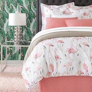Flamingos Single Duvet Cover