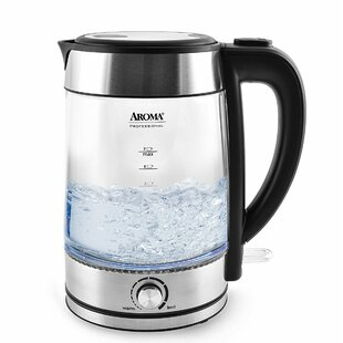 1.79 Qt. Glass Electric Tea Kettle