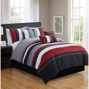 Isanti 7 Piece Comforter Set by Red Barrel Studio Coupon