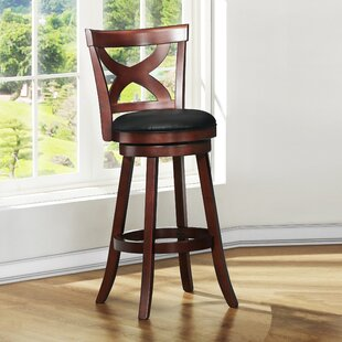 Aislinn 29 Swivel Bar Stool Andover Mills