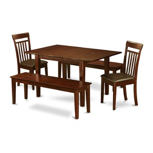 Lorelai 5 Piece Dining Set by Alcott Hill