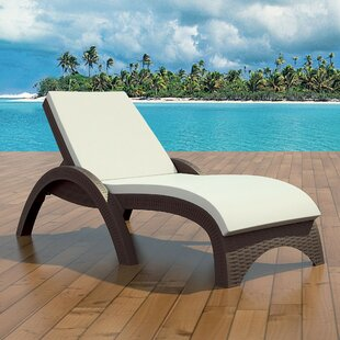 Mercury Row Kassiopeia Indoor/Outdoor Chaise Lounge Cushion (Set of 2)