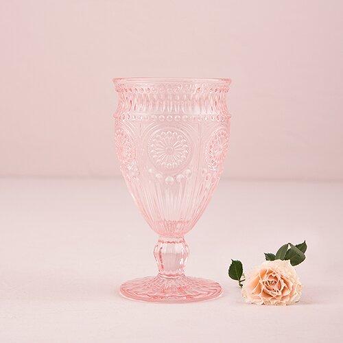 Vintage Inspired Pressed 7 oz. Glass Goblet