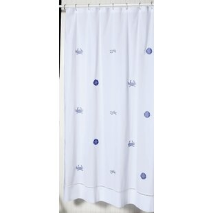 Cantillo 100% Cotton Single Shower Curtain