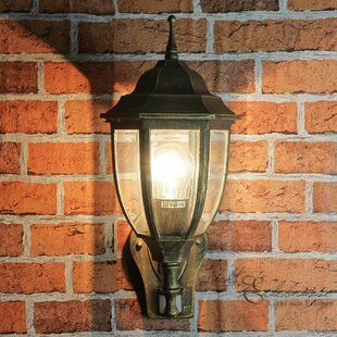 Griffey Outdoor Wall Lantern With Motion Sensor By Sol 72 Outdoor