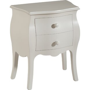 Isabeau 2 Drawer Bedside Table