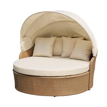 Woolery Canopy Daybed with Cushions