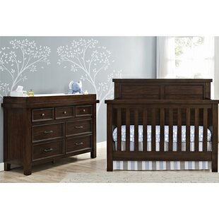 Timber Lake 5 In 1 Convertible 3 Piece Crib Set