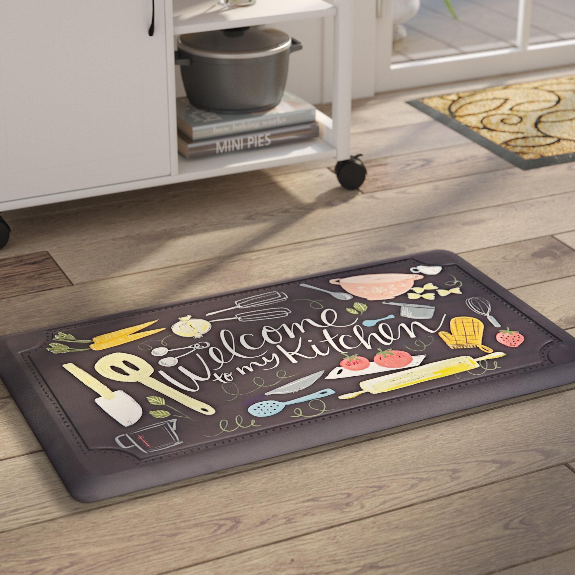 Gothard Scattered Kitchen Dri- Pro Comfort Kitchen Mat