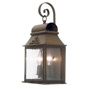 2nd Ave Design Bastille 2-Light Outdoor Wall Lantern