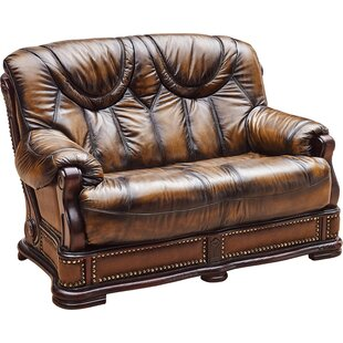 Reveles Leather Loveseat