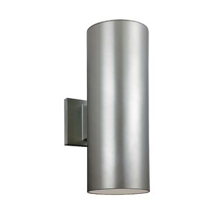 Orren Ellis Gerritt 2-Light Outdoor Sconce