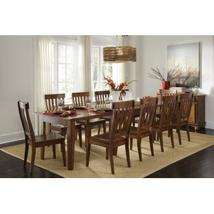 Birchley Solid Wood Dining Table by World Menagerie