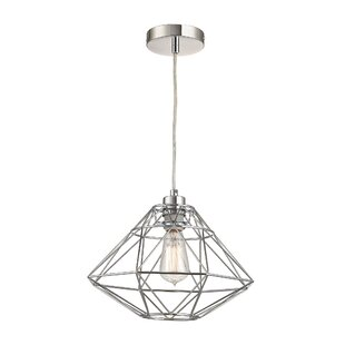 Langley Street Alcorn Lake 1-Light Geometric Pendant