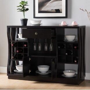 Parish 18 Bottle Floor Wine Cabinet by Brayden Studio