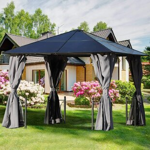 Milanna 3m X 3m Aluminium Party Tent By Sol 72 Outdoor