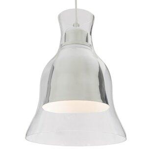 Brayden Studio Jurgensen Modern 1-Light Bell Pendant