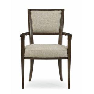 Modern Streamline Armchair Set of 2 by Caracole Modern