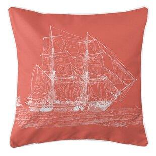 Leppert Ship Throw Pillow