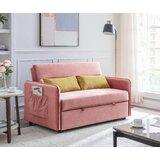 Babram Twin 57 Tight Back Convertible Sofa by Latitude Run®