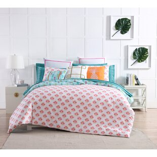 Tropical Reversible Duvet Cover Set