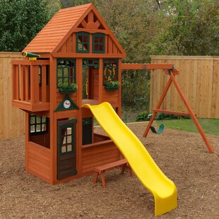 KidKraft Brockwell Wooden Swing Set
