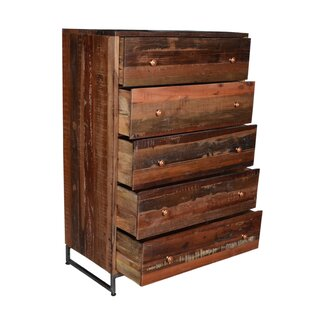 Locking 5 Drawer Standard Dresser/Chest