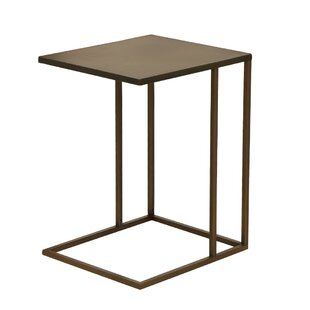 Sandra End Table by 17 Stories
