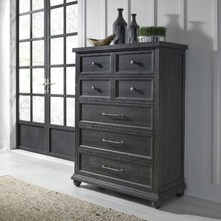 Habersham 5 Drawer Chest by Three Posts #1