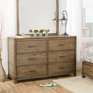 Seleukos 6 Drawer Double Dresser