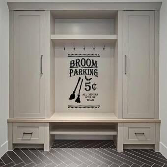 TOUGH GUY Black 10 Polyester Floor Broom