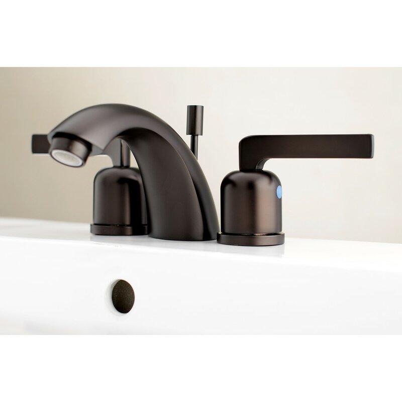 Kingston Brass Centurion Widespread Faucet Bathroom Faucet With Drain Assembly Wayfair