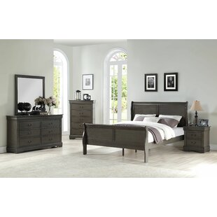 Compare prices Fink Sleigh Configurable Bedroom Set By Charlton Home