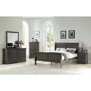 Sophia Sleigh Configurable Bedroom Set by Grovelane Teen Find