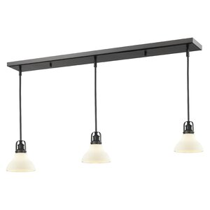 Lindley Contemporary 3-Light Kitchen Island Pendant